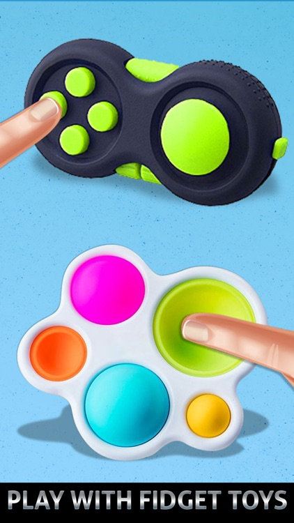 Fidget Box Antistress Toys 3D
