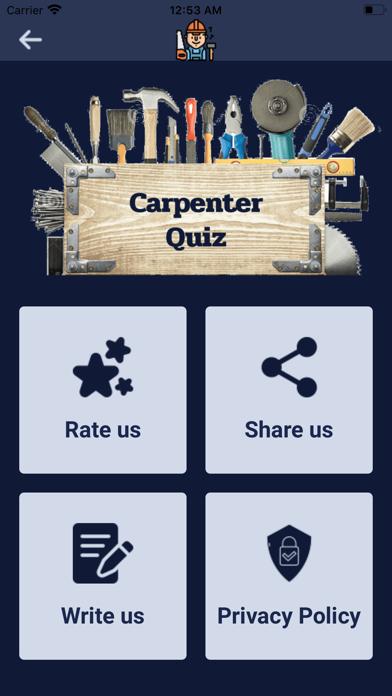 Carpenter Quiz screenshot 4