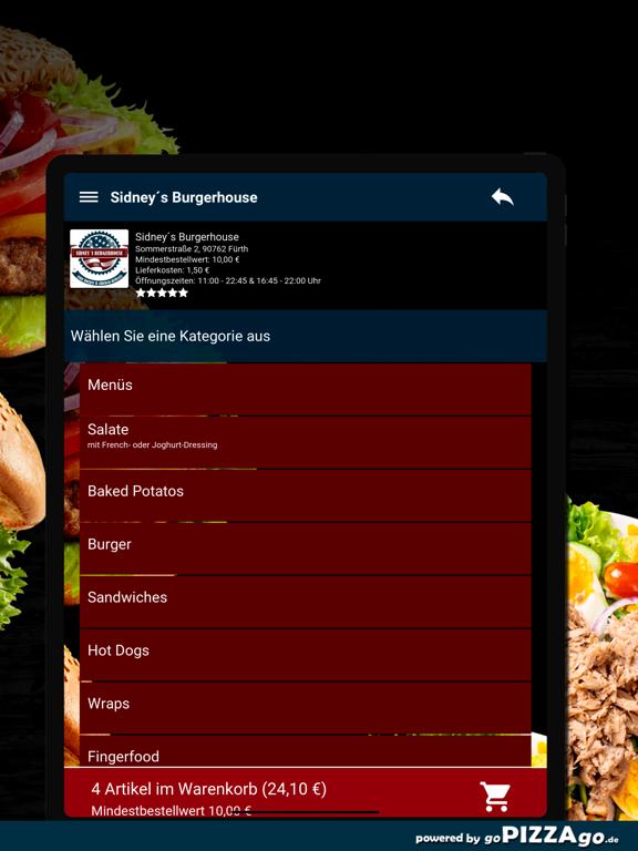 Sidney´s Burgerhouse Fürth screenshot 8
