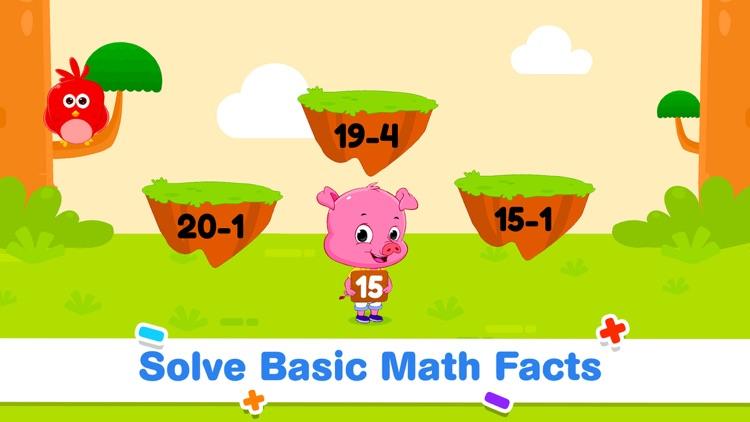 Addition Subtraction for Kids! screenshot-3