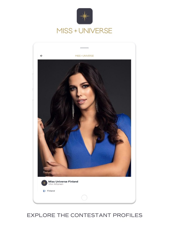 iPad Image of Miss Universe Official