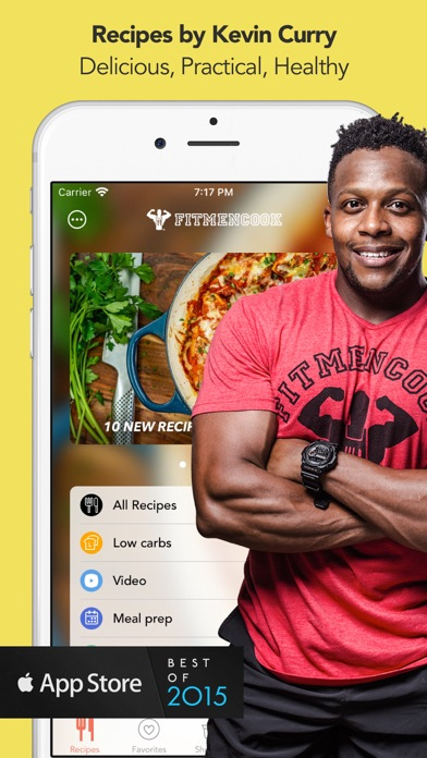 Fit Men Cook - Healthy Recipes Screenshot