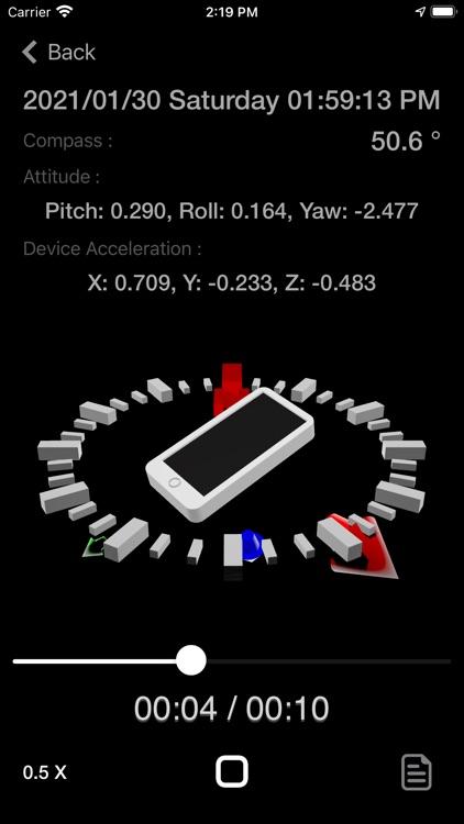 Motion Log Plus screenshot-8
