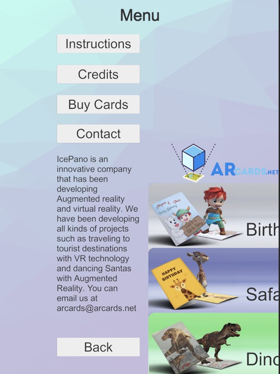 ARcards.net screenshot 4