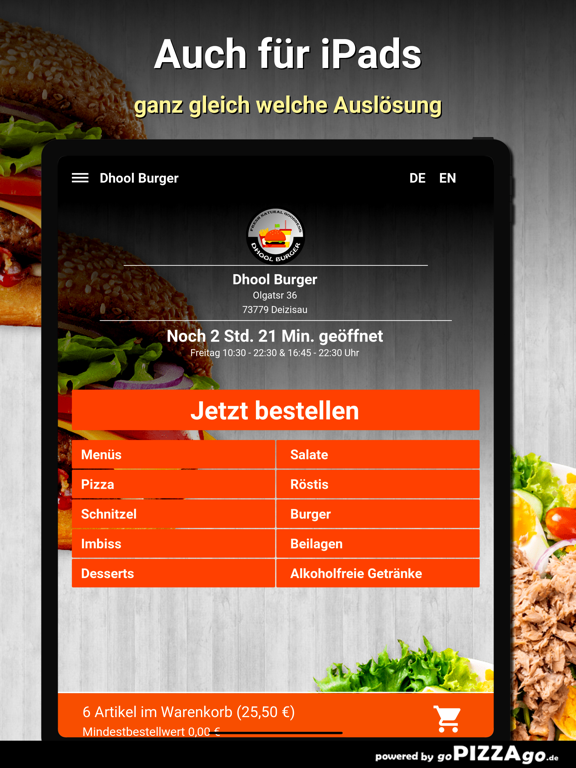 Dhool Burger Deizisau screenshot 7