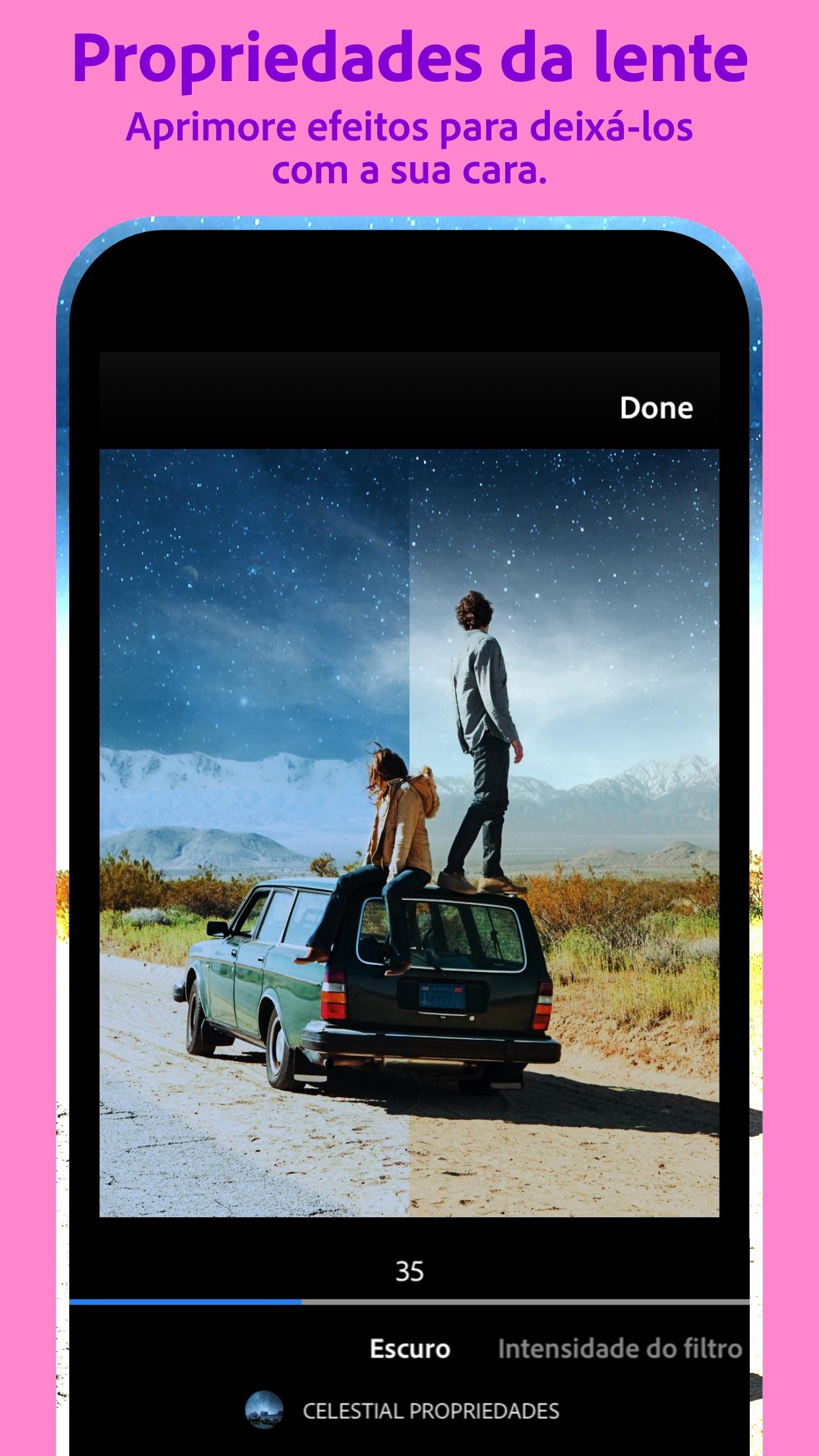 Screenshot do app Photoshop Camera: Editar Fotos