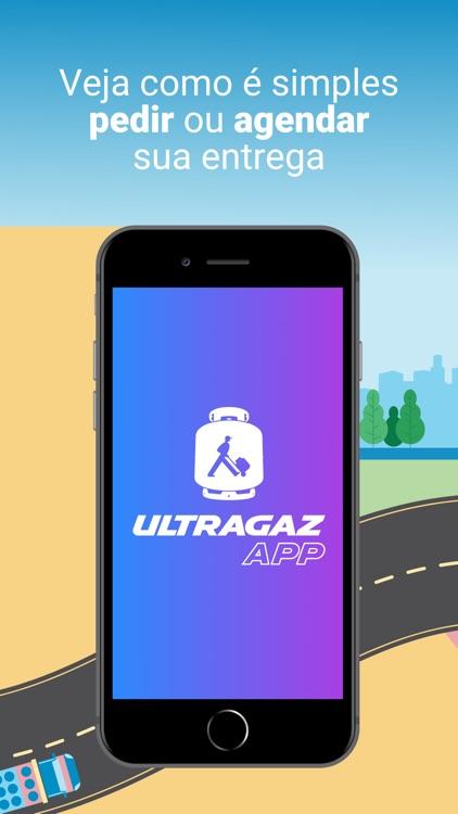 Ultragaz: pedir botijão de gás