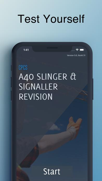 CPCS A40 Slinger / Signaller screenshot 1