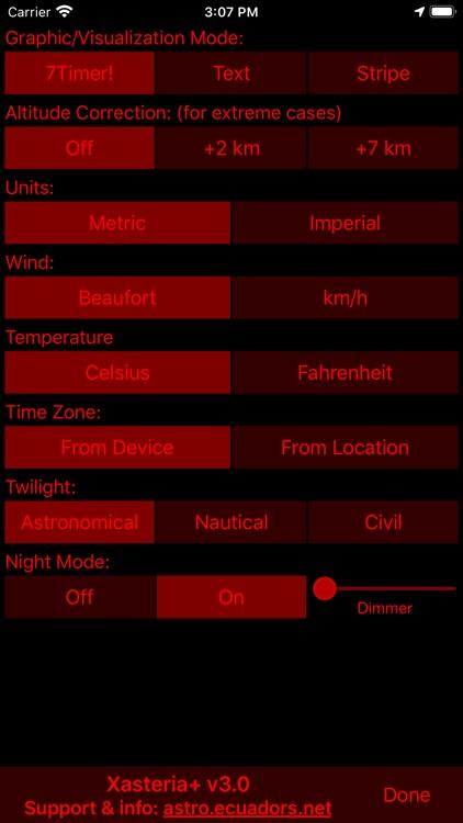 Xasteria Plus - Astro Weather screenshot-4