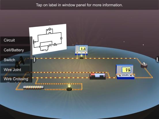 Electric Circuit Diagram screenshot 10