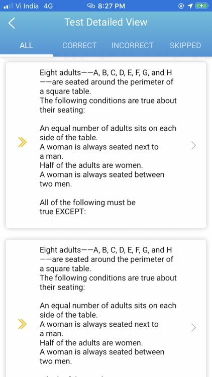 CLIFFSTEST LSAT EXAM PREP APP screenshot-5