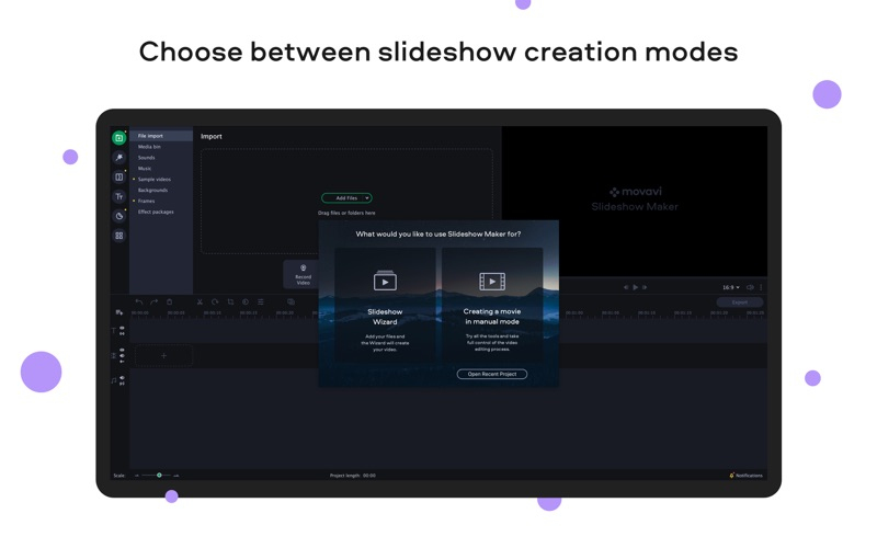 Movavi Slideshow Maker Screenshots