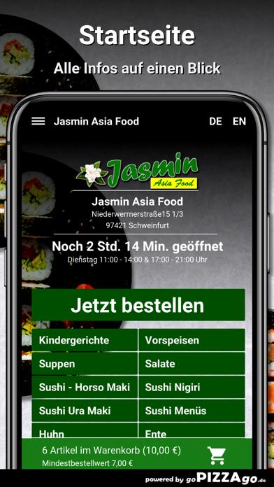 Jasmin Asia Food Schweinfurt screenshot 2