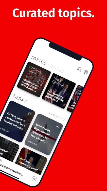 Genko: Audio news stories screenshot-3