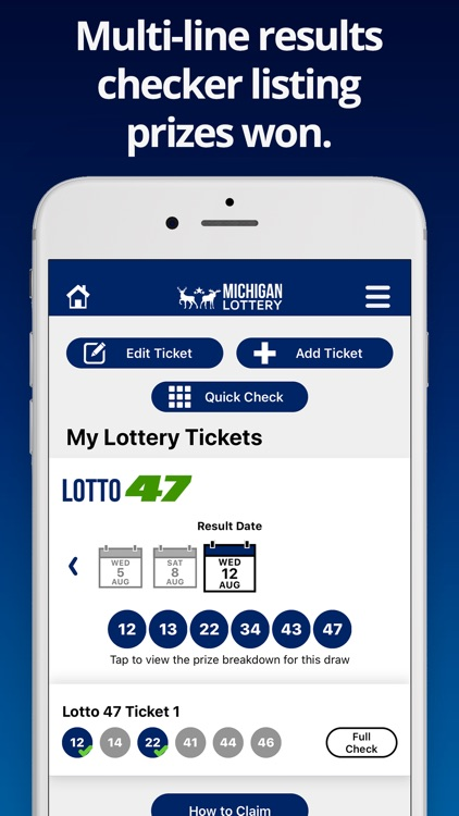 Michigan Lottery Numbers