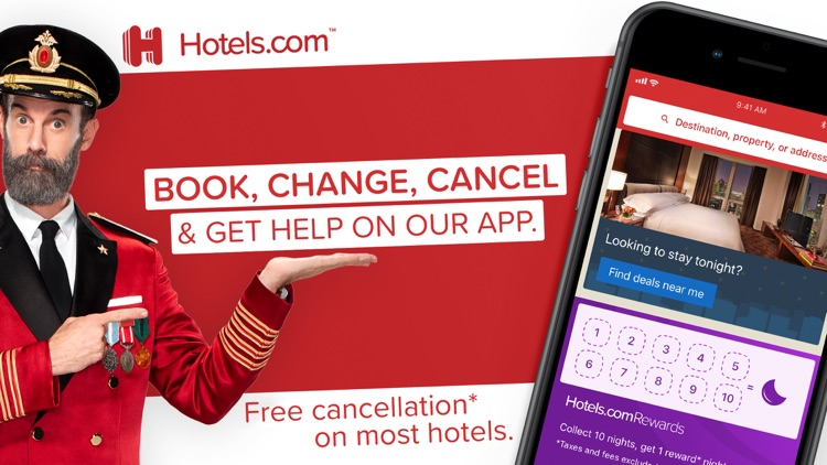Hotels.com: Book Hotels & More screenshot-0