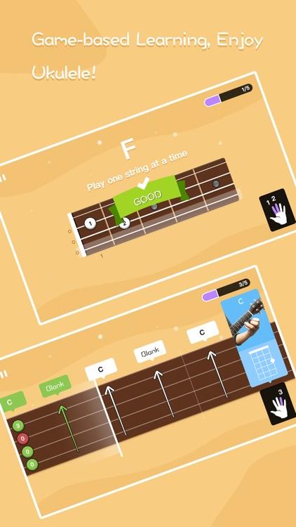 Guitar ukulele tuner & tabs
