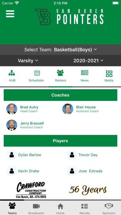 Van Buren Pointers Athletics screenshot-6