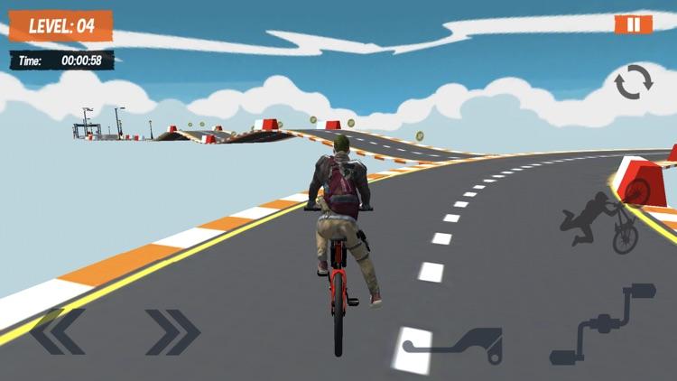 BMX Mega Ramps Stunt Race Game