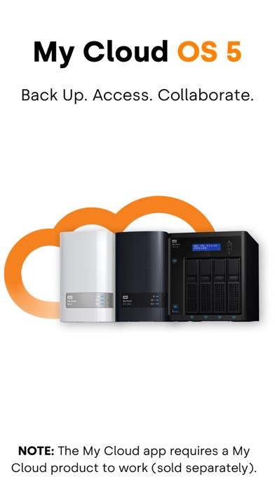 My Cloud OS 5Screenshot von 1