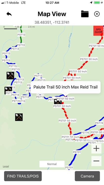 Paiute ATV OHV Trails screenshot-3