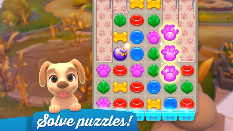 Dogs Home: Design and Puzzles screenshot-0
