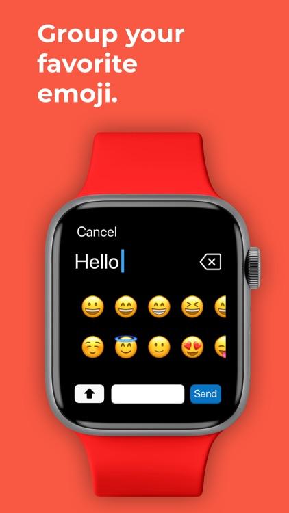 Type: Keyboard for Apple Watch screenshot-5