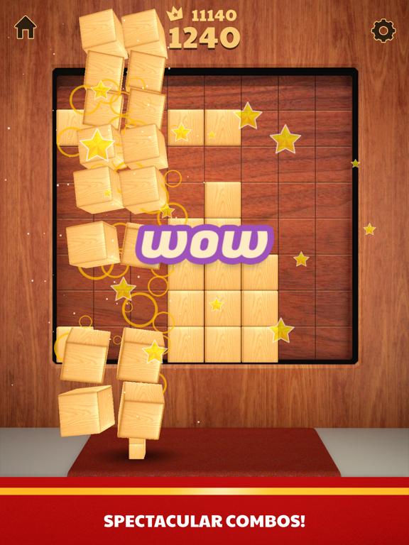 Ipad Screen Shot Wood Blocks 3D 4
