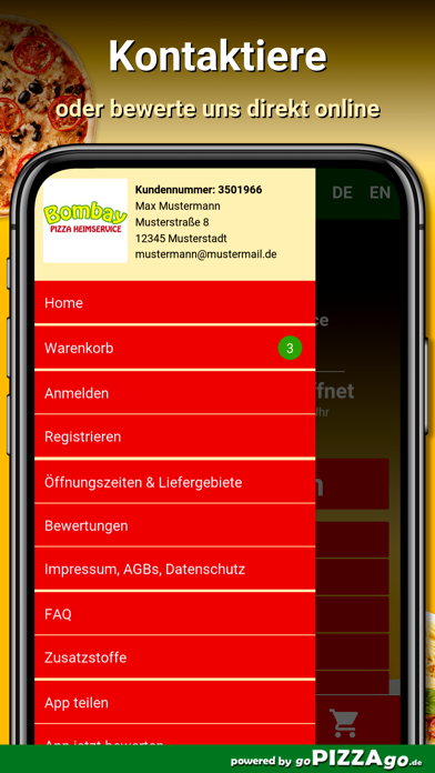 Bombay Pizza Kornwestheim screenshot 3