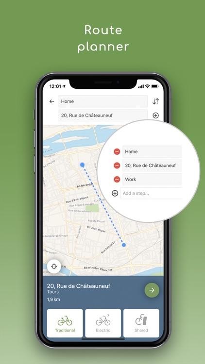 Geovelo : bike GPS screenshot-6