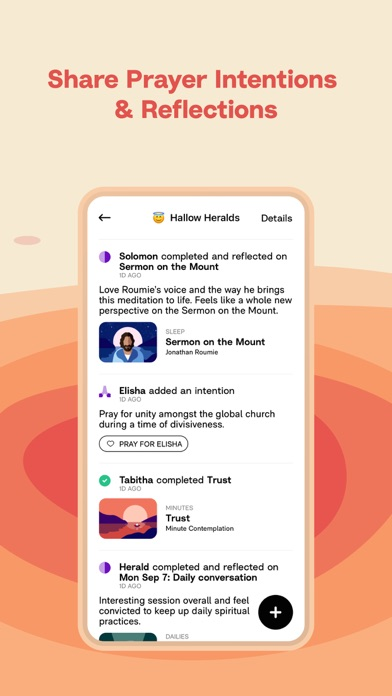 Hallow: Catholic Meditation Screenshot