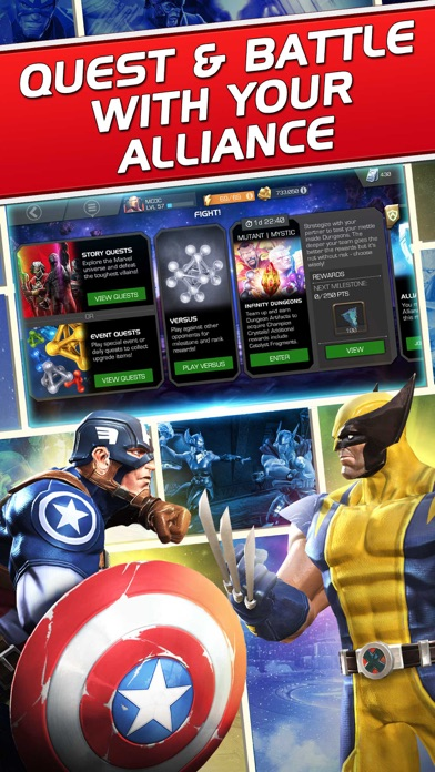 Screenshot from Marvel Contest of Champions