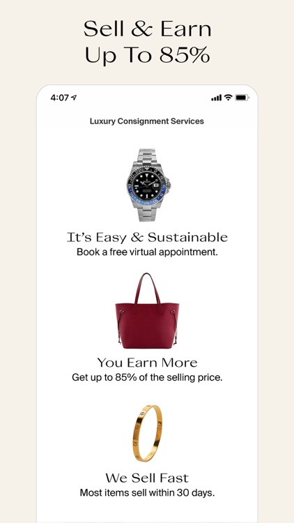The RealReal - Buy+Sell Luxury screenshot-2