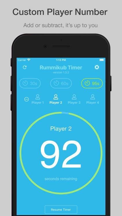 Rummikub Timer screenshot-6