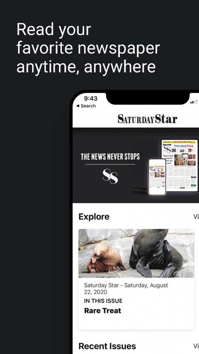 Saturday Star SAScreenshot of 2