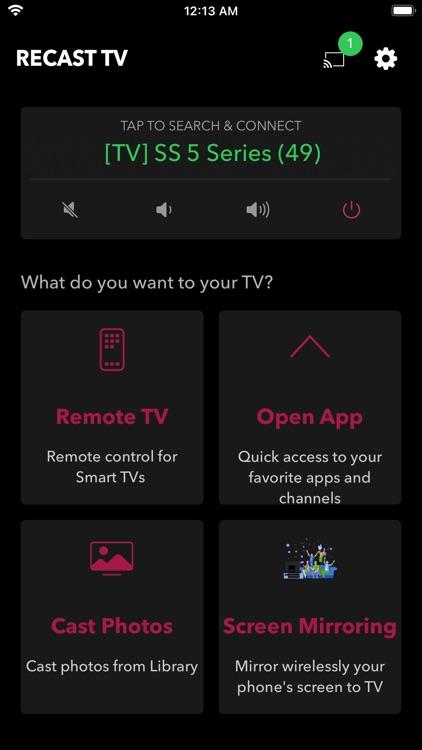ReCast TV & Screen Mirroring screenshot-3