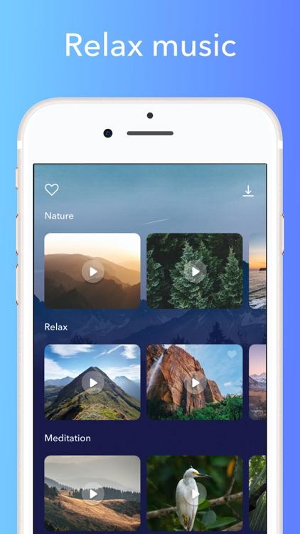 Relaxing Music & Pulse Tracker screenshot-4