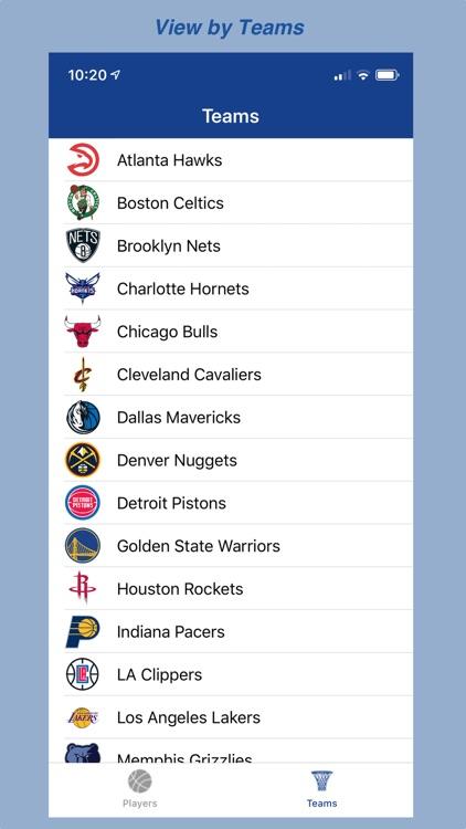 BBall Player Stats screenshot-3