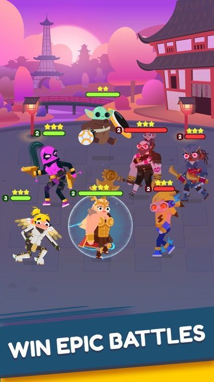 Heroes Battle:Auto-Battler RPG screenshot-3