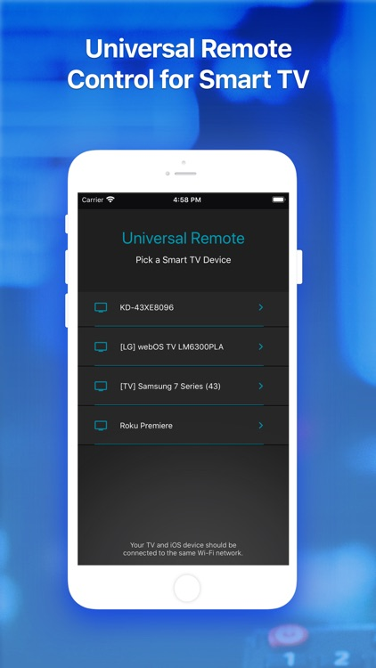 Universal TV Remote ·