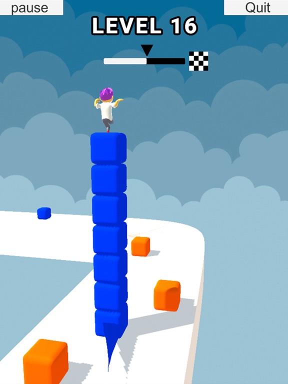 Cube Stacker Surfer 3D Run screenshot 6