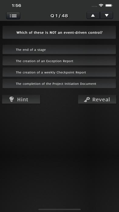 PRINCE2 Foundation Exam screenshot 3