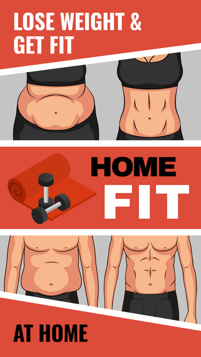 HomeFit Workouts: Lose Weightのおすすめ画像1