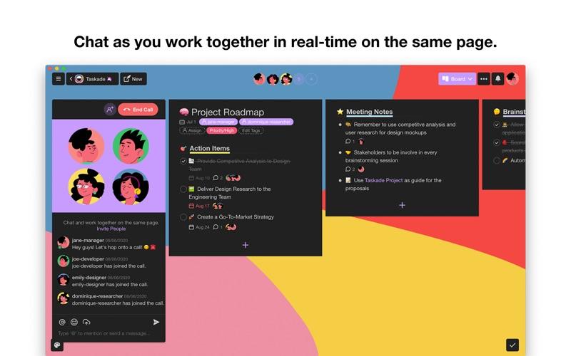 Taskade - Manage anything! скриншот программы 3