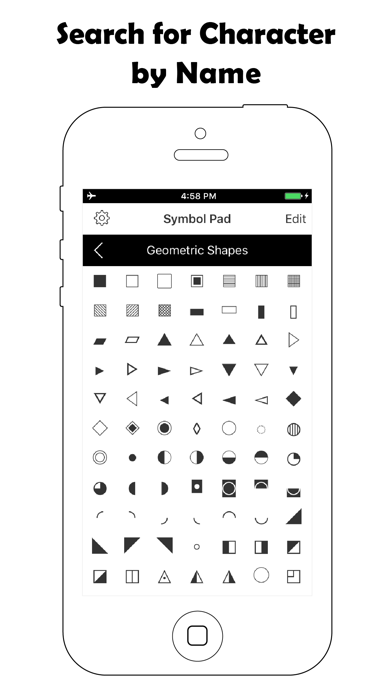 特殊文字記号 - ユニコードキーボード・Unicode入力法のおすすめ画像3
