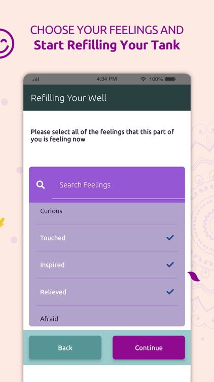 Refilling Your Well: Self care screenshot-4