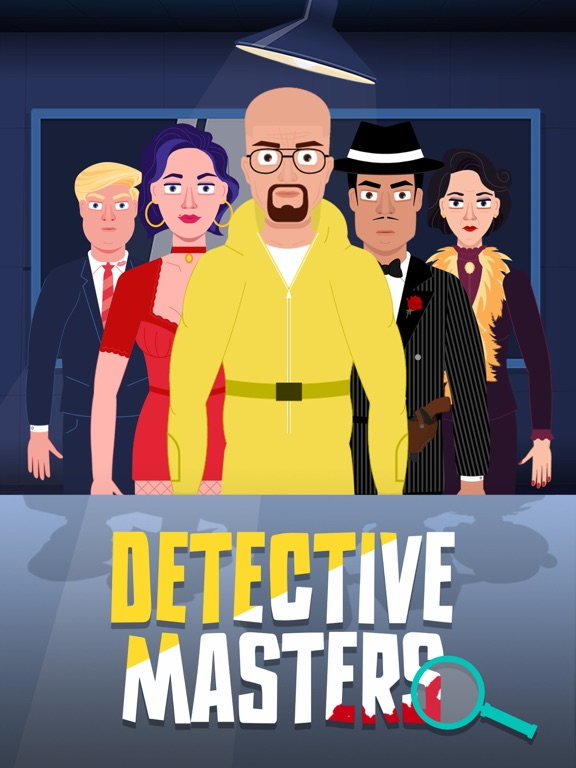 Detective Masters iPad app afbeelding 1