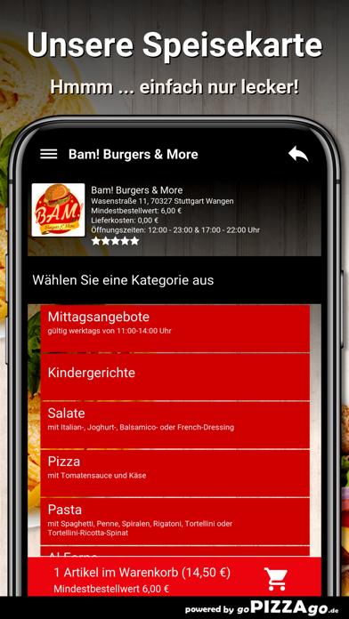 Bam Burgers Stuttgart Wangen screenshot 4