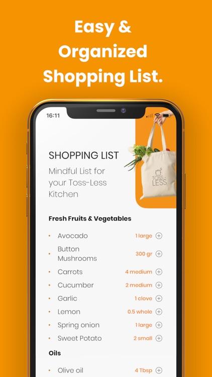 Toss-Less: Food Recipes screenshot-5