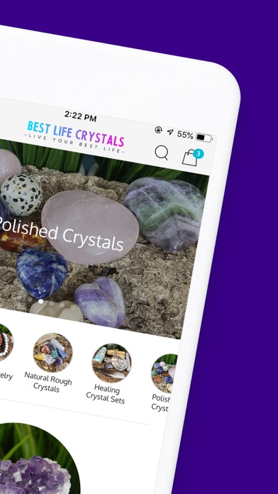 Best Life Crystals Screenshot